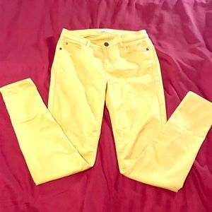 Love and Fire Yellow Jeans